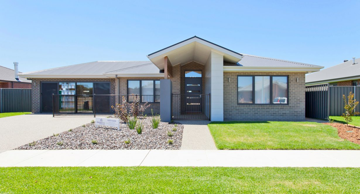 north-haven-facade - alatalo home - display home - albury homes - thurgoona home - house and land - home builder - thurgoona home - display homes - albury builder - custom design - custom home - facade - home design
