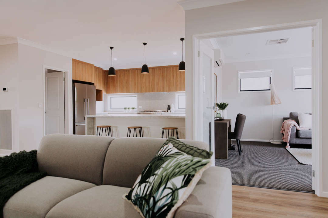 014 Alatalo Bros - open plan - living room - family room - home design - kitchen design - interior design - family home - kitchen - builders - wagga wagga - albury - wodonga