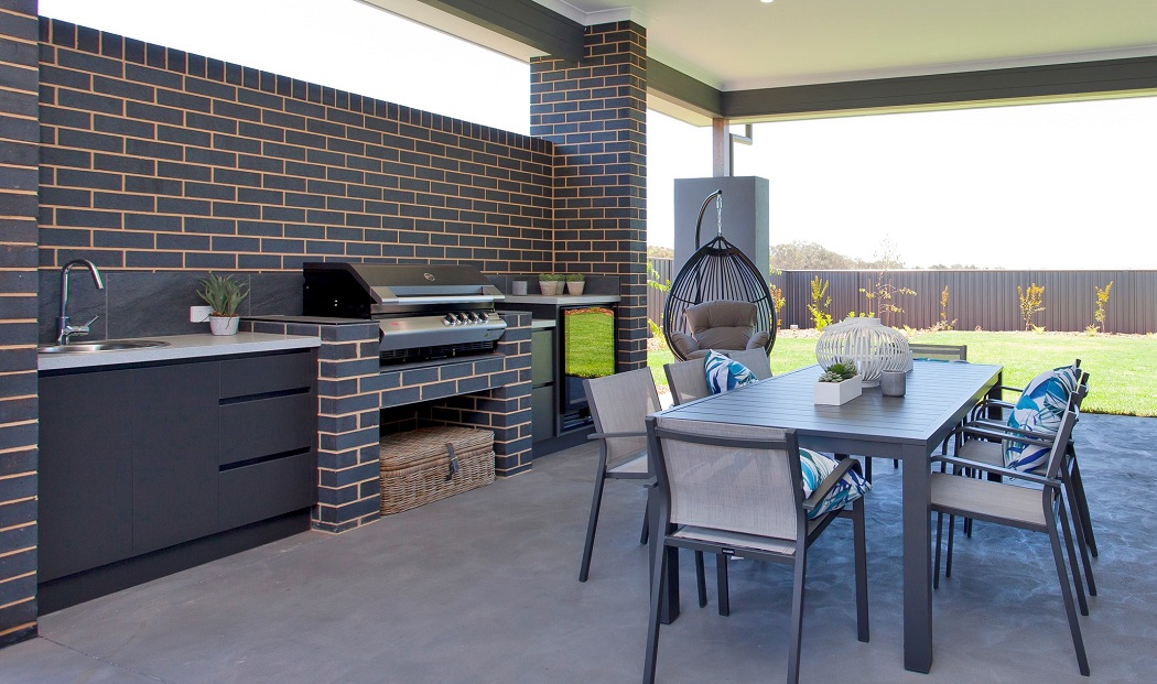023 Alatalo Bros - display home - north haven - home design - home builders - alfresco living - outdoor kitchen - cabinet design - entertainment area - living area - patio - home builders - albury - wodonga - wagga wagga