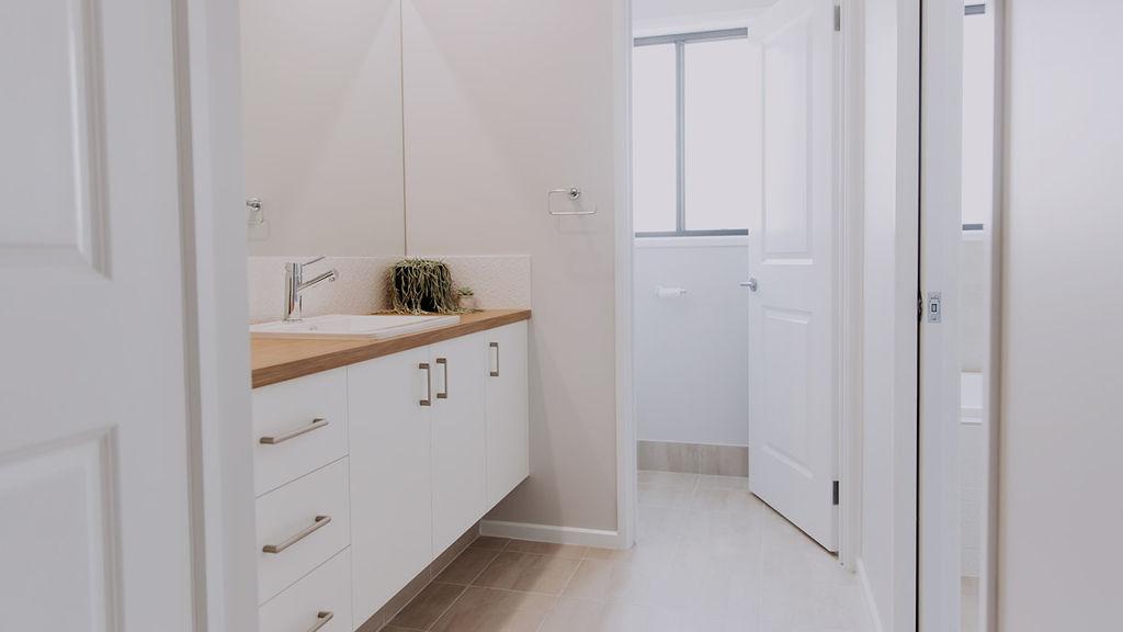 030 Alatalo bros - home design - powder room - bathroom - kids bath - guest bath - family home - home design - builders - open plan - natural light - display home - home design -standard inclusions
