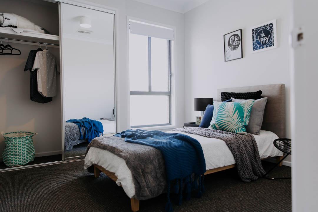 033 Alatalo Bros - bedroom - kids bed - robes - Alatalo inclusions - home design - interior design - bedroom - boys room - new home - builders - display homes - wagga wagga - albury - wodonga