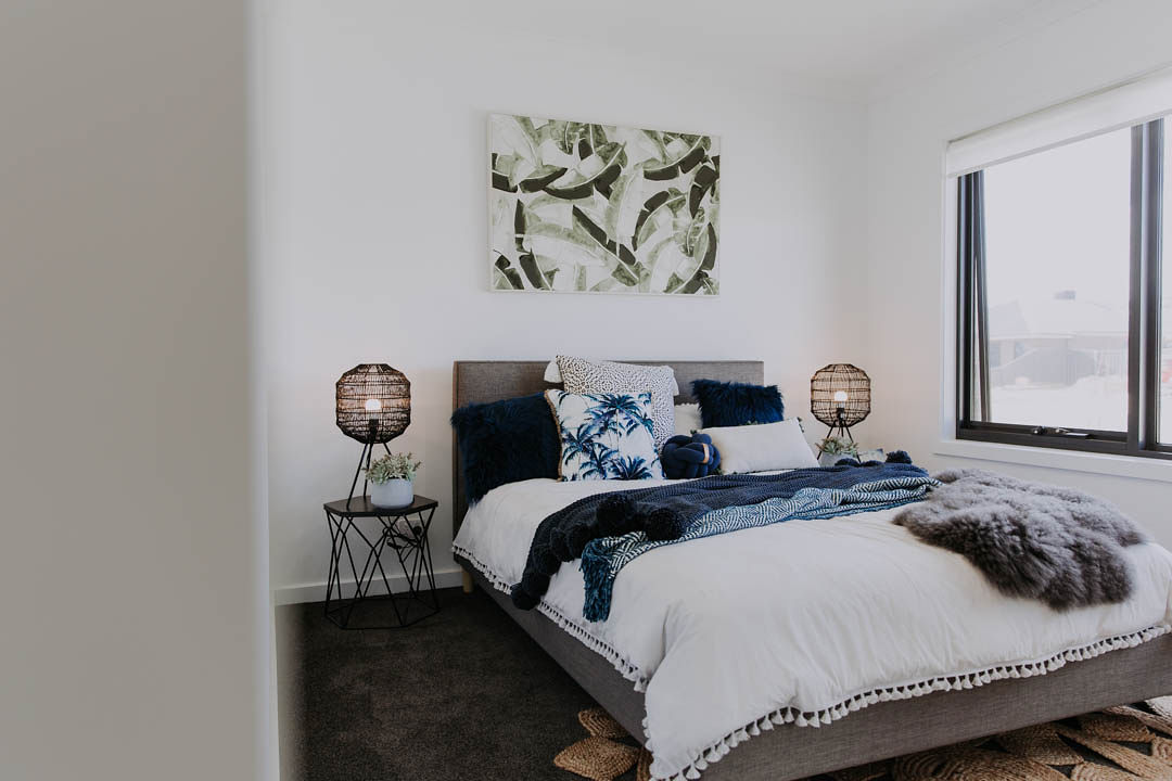 037 Alatalo Bros - home design - new homes - local builders - albury - wodonga - custom homes -bedroom - guest room - display home - interior design - bed - home styling - home design - north haven - bedroom decorations
