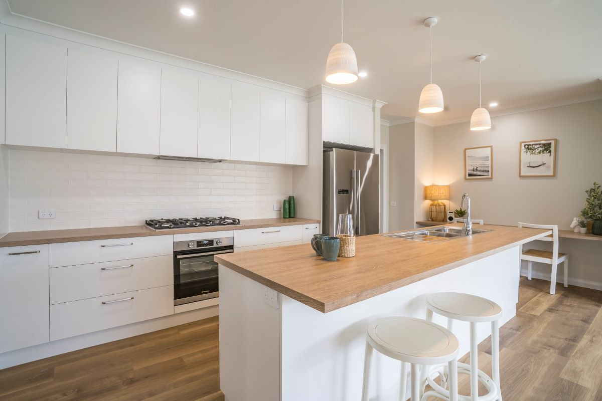 The Wollemi-alatalo bros- display home- kitchen- wodonga builder